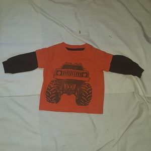 Monster Truck Shirt W/ Thermal Sleeves